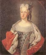 Israel Silvestre Portrait of Maria Josepha of Austria oil painting reproduction