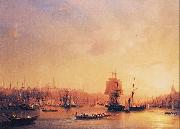 Ivan Aivazovsky Dusk on the Golden Horn oil painting reproduction