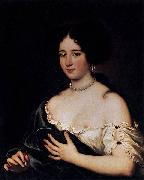 Jacob Ferdinand Voet Maria Mancini as Cleopatra oil painting