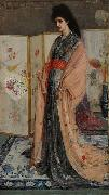 The Princess from the Land of Porcelain, James Abbot McNeill Whistler