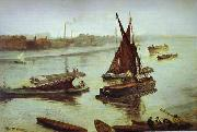 Grey and Silver: Old Battersea Reach, James Abbot McNeill Whistler