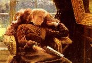 Kathleen Newton In An Armchair
