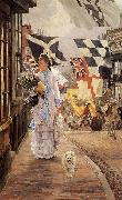 A Fete Day at Brighton, James Tissot