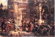 Reception of the Jews A.D. 1096., Jan Matejko