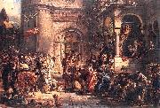 Reception of the Jews A.D, Jan Matejko