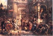 Immigration of the Jews, Jan Matejko