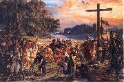 Christianization of Poland A.D. 965., Jan Matejko
