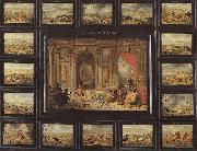 Jan Van Kessel the Younger Gemalde Der Erdteil Afika oil painting
