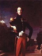 Portrait of Prince Ferdinand Philippe, Duke of Orleans, Jean Auguste Dominique Ingres