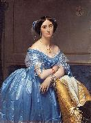 Portrait of Princesse Albert de Broglie, Jean Auguste Dominique Ingres