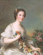 Jean Marc Nattier Portrait of a Lady oil painting reproduction