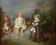 Happy Age. Golden Age, Jean antoine Watteau