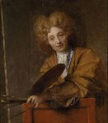 Jean-Baptiste Santerre Self portrait oil painting reproduction