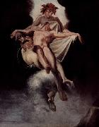 Johann Heinrich Fuseli Sleep and Death carrying away Sarpedon of Lycia oil painting reproduction