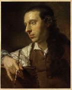 Johann Zoffany Self portrait oil painting reproduction