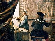 The Art of Painting,, Johannes Vermeer