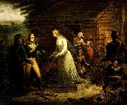 Mrs. Motte Directing Generals Marion and Lee to Burn Her Mansion by John Blake White