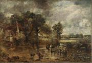 John Constable Full-scale study for The Hay Wain oil painting reproduction