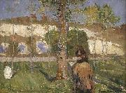 Loing at Moret