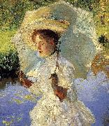 Morning Walk Detail, John Singer Sargent