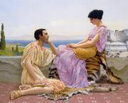 Youth and Time, John William Godward