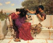 Old Old Story, John William Godward