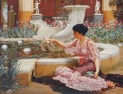 A Pompeian Garden, John William Godward