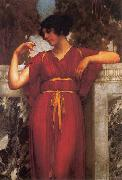 The Ring by John William Godward, John William Godward