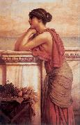 By the Wayside, John William Godward