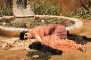 Sweet Nothings by Godward, John William Godward