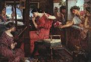 Penelope and the Suitors, John William Waterhouse