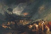 Joseph Mallord William Turner The Deluge oil painting reproduction
