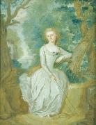 Joseph Whiting Stock Portrait of a woman oil painting reproduction