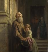Josephus Laurentius Dyckmans The Blind Beggar oil painting reproduction