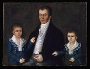 Joshua Johnson John Jacob Anderson and Sons John and Edward oil painting artist