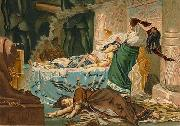 Juan Luna The Death of Cleopatra oil painting reproduction