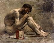 Jules Bastien-Lepage Diogenes oil painting reproduction