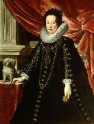 Justus Sustermans Anna of Medici, wife of archduke Ferdinand Charles of Austria oil painting artist