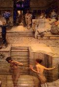 Laura Theresa Alma-Tadema A Favourite Custom oil painting