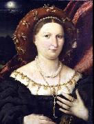 Portrait of Lucina Brembati, Lorenzo Lotto