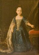 Portrait of Natalia Romanov, Louis Caravaque