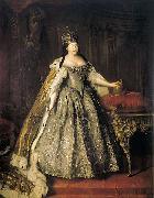 Portrait of Empress Anna Ioannovna, Louis Caravaque