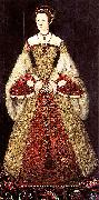 Master John Portrait of Catherine Parr oil painting on canvas