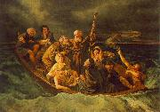 Mihaly Munkacsy Lifeboat oil painting on canvas