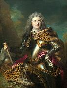 Nicolas de Largilliere Portrait of Charles Armand de Gontaut oil painting