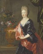 Nicolas de Largilliere Portrait of a lady oil painting reproduction