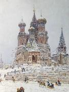 Nikolay Nikanorovich Dubovskoy Church of St. Basil oil painting