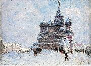 Nikolay Nikanorovich Dubovskoy Red Square oil painting