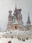 Nikolay Nikanorovich Dubovskoy Church of St. Basil. oil painting
