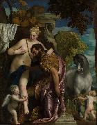 Mars and Venus United by Love, Paolo  Veronese